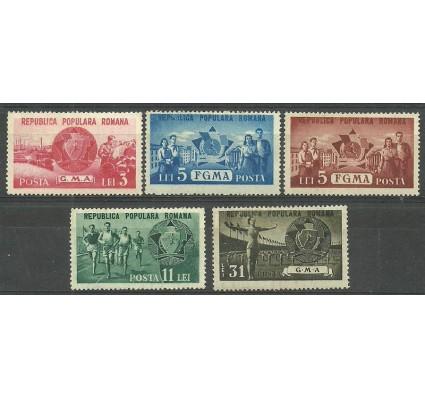 Znaczek Rumunia 1950 Mi 1242-1246 Czyste **
