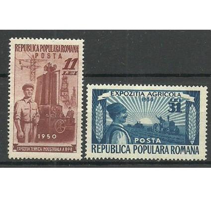 Znaczek Rumunia 1951 Mi 1252-1253 Czyste **