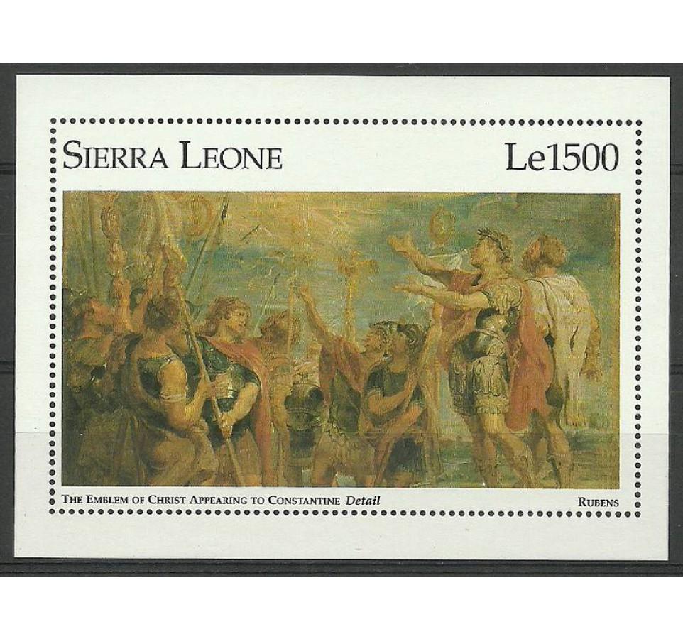 Sierra Leone 1996 Mi bl 294 Czyste **