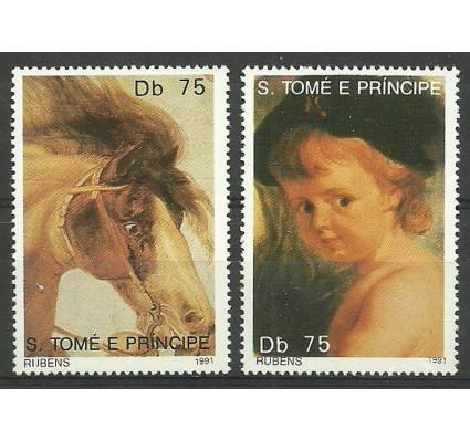 Znaczek Wyspy Św. Tomasza i Książęca 1991 Mi 1254-1255 Czyste **