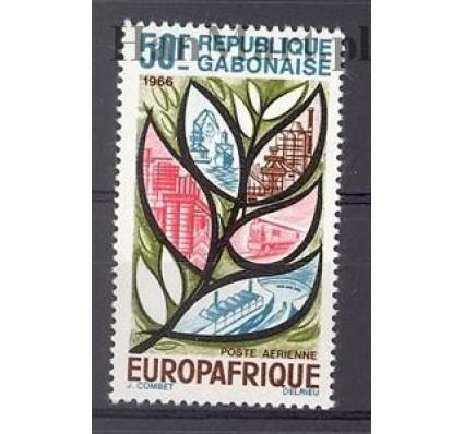 Znaczek Gabon 1966 Mi 250 Czyste **