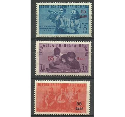 Znaczek Rumunia 1952 Mi 1332-1334 Czyste **