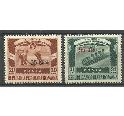 Znaczek Rumunia 1952 Mi 1340-1341 Czyste **