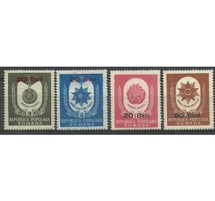 Znaczek Rumunia 1952 Mi 1343-1346 Czyste **
