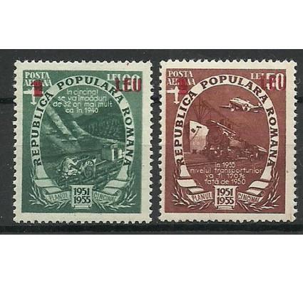 Znaczek Rumunia 1952 Mi 1368-1369 Czyste **