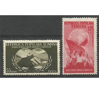 Znaczek Rumunia 1953 Mi 1456-1457 Czyste **