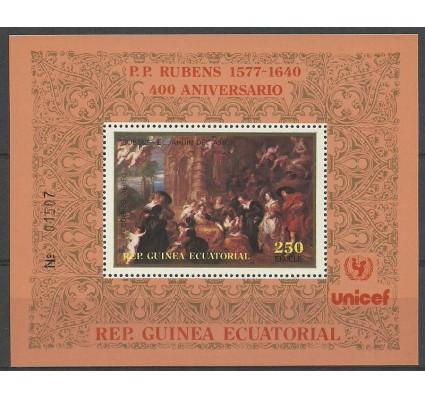 Znaczek Gwinea Równikowa 1978 Mi bl 298 Czyste **