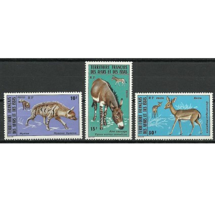 Znaczek Francuskie Terytorium Afarów i Issów 1976 Mi 141-143 Czyste **