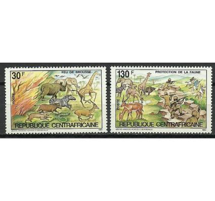 Znaczek Republika Środkowoafrykańska 1984 Mi 1004-1005 Czyste **