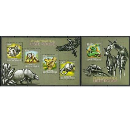 Znaczek Republika Środkowoafrykańska 2014 Mi ark 4750-4753+bl 1163 Czyste **