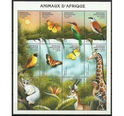 Znaczek Kongo Kinszasa / Zair 2000 Mi ark 1423-1434 Czyste **
