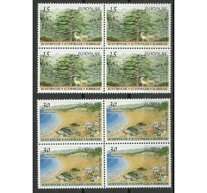 Znaczek Cypr 1999 Mi 927-928 Czyste **