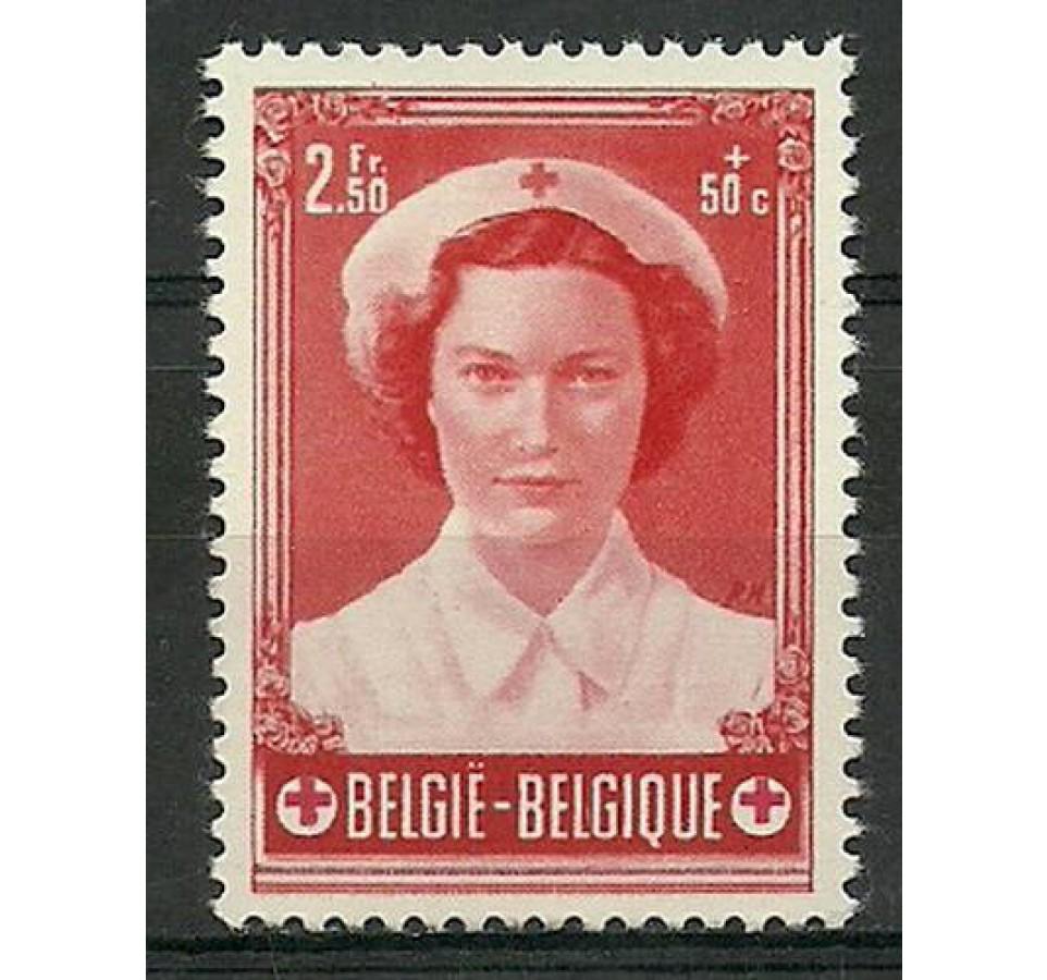 Belgia 1953 Mi 964 Czyste **