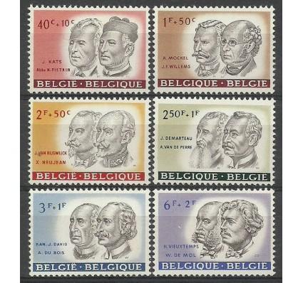 Znaczek Belgia 1961 Mi 1236-1241 Z podlepką *