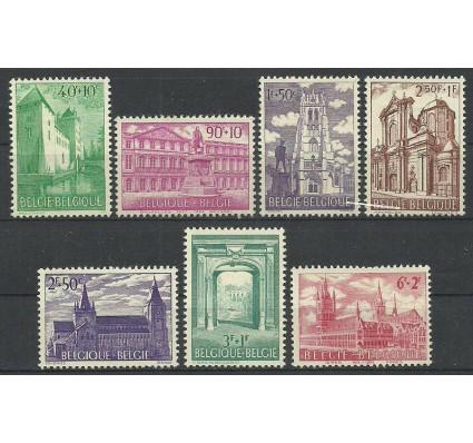 Znaczek Belgia 1962 Mi 1265-1271 Z podlepką *