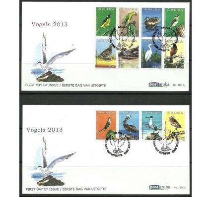 Znaczek Aruba 2013 Mi 739-750 FDC
