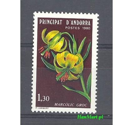Znaczek Andora Francuska 1980 Mi 307 Czyste **