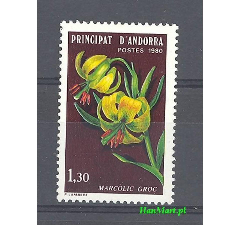 Andora Francuska 1980 Mi 307 Czyste **