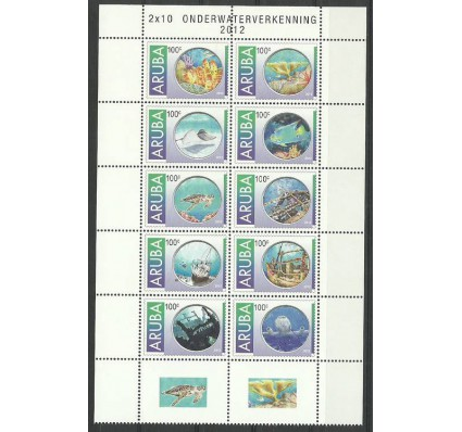 Znaczek Aruba 2012 Mi zf 685-694 Czyste **
