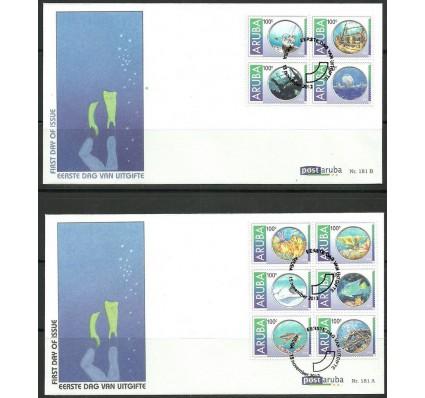 Znaczek Aruba 2012 Mi 685-694 FDC
