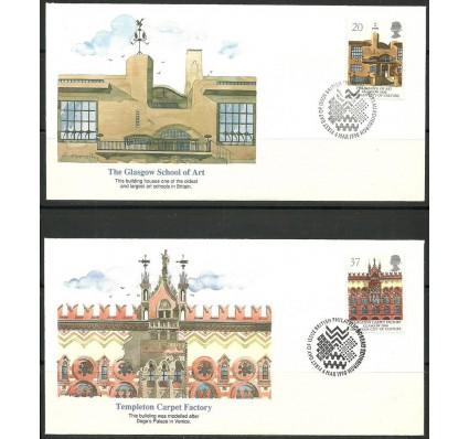 Znaczek Wielka Brytania 1990 Mi 1263-1264 FDC