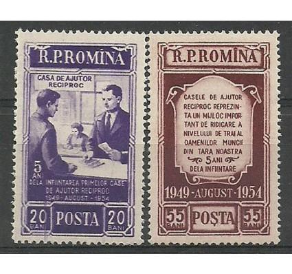 Znaczek Rumunia 1954 Mi 1481-1482 Czyste **
