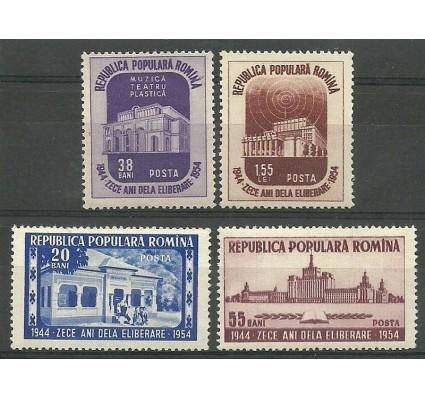 Znaczek Rumunia 1954 Mi 1484-1487 Czyste **
