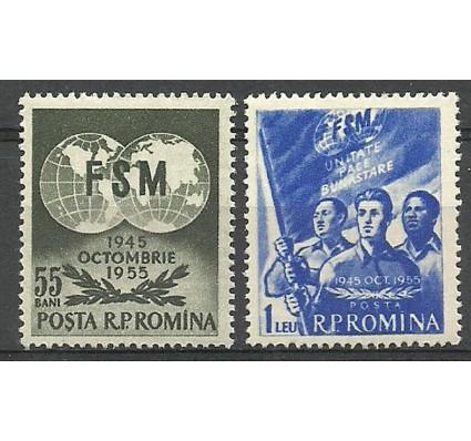 Znaczek Rumunia 1955 Mi 1537-1538 Czyste **