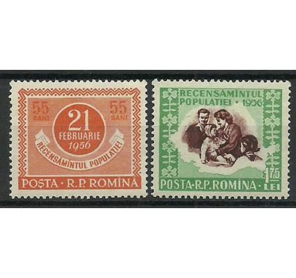 Znaczek Rumunia 1956 Mi 1563-1564 Czyste **