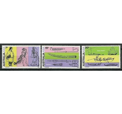 Znaczek Australia 1971 Mi 461-463 Czyste **
