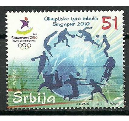 Znaczek Serbia 2010 Mi 361 Czyste **