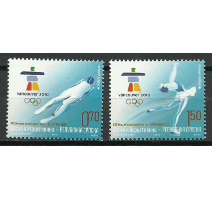 Znaczek Republika Serbska 2010 Mi 489-490 Czyste **