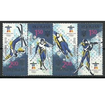 Znaczek Ukraina 2010 Mi 1068-1071 Czyste **