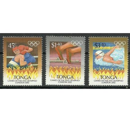 Znaczek Tonga 2012 Mi 1789-1791 Czyste **