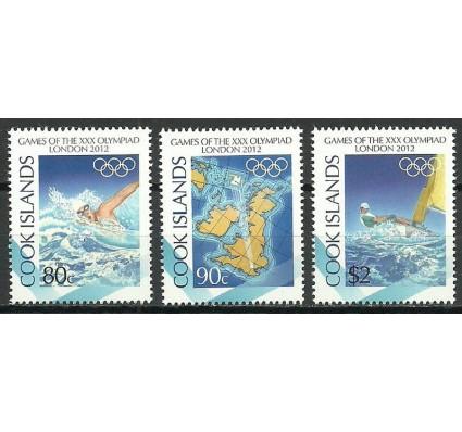 Znaczek Wyspy Cooka 2012 Mi 1737-1739 Czyste **