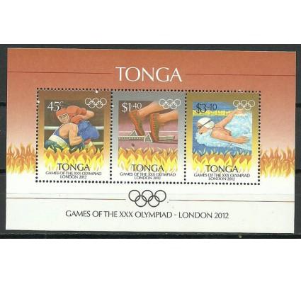 Znaczek Tonga 2012 Mi bl 55 Czyste **