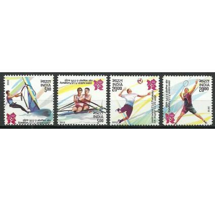 Znaczek Indie 2012 Mi 2658-2661 Czyste **