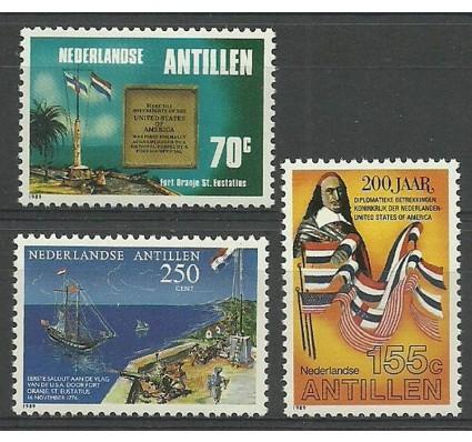 Znaczek Antyle Holenderskie 1989 Mi 671-673 Czyste **