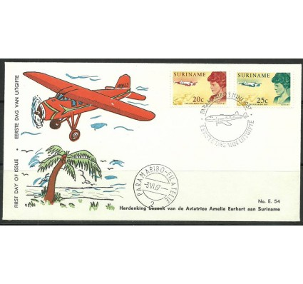 Surinam 1967 Mi 521-522 FDC