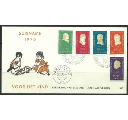 Znaczek Surinam 1970 Mi 588-592 FDC