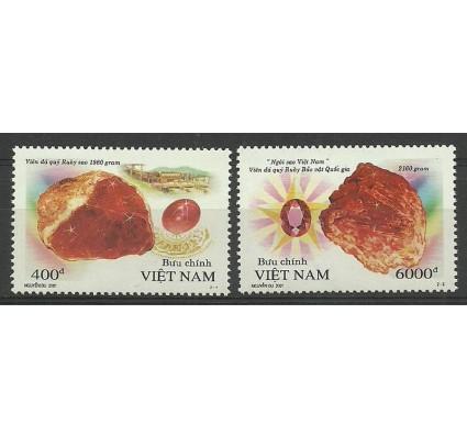 Znaczek Wietnam 2001 Mi 3141-3142 Czyste **