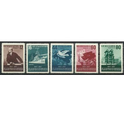 Znaczek Bułgaria 1957 Mi 1041-1045 Czyste **