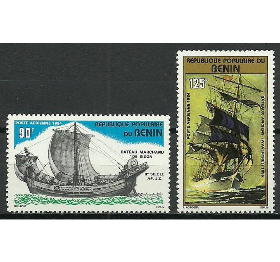 Benin 1984 Mi 380-381 Czyste **
