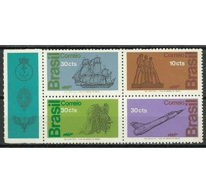 Znaczek Brazylia 1972 Mi zf 1356-1359 Czyste **