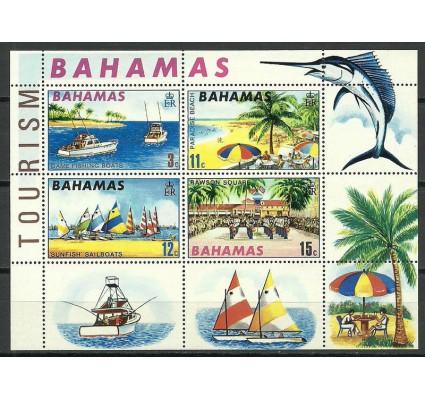 Znaczek Bahamy 1969 Mi bl 1 Czyste **
