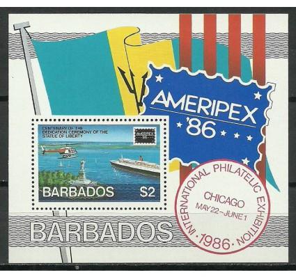 Znaczek Barbados 1986 Mi bl 21 Czyste **