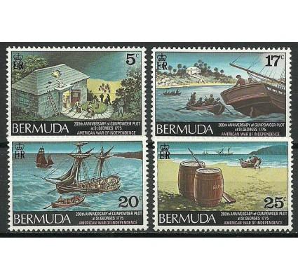 Znaczek Bermudy 1975 Mi 318-321 Czyste **