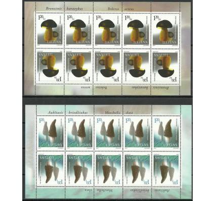 Znaczek Litwa 1997 Mi ark 649-650 Czyste **