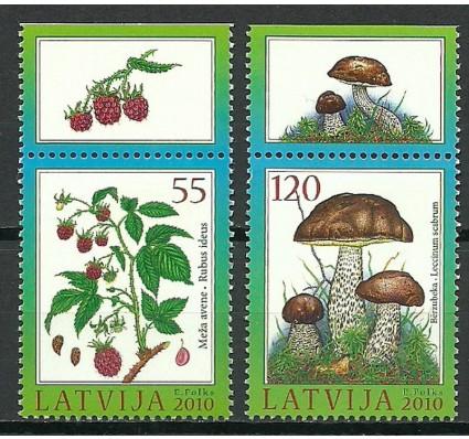 Znaczek Łotwa 2010 Mi 792-793 Czyste **