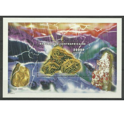 Znaczek Republika Środkowoafrykańska 1999 Mi bl 625 Czyste **